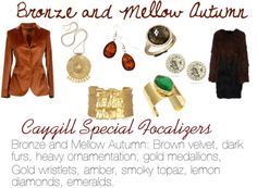 Caygill Special Focalizers: Bronze and Mellow Autumn