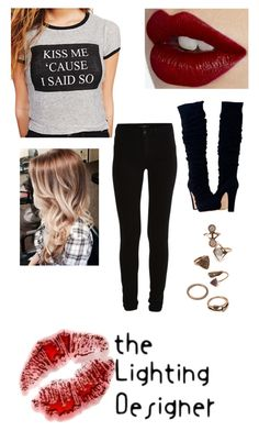 """""""Oh baby, just kiss me!!"""" by jamzm ❤ liked on Polyvore featuring Wet Seal, Charlotte Tilbury, VILA and Forever 21"""