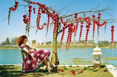 Lily Cole by Tim Walker on Vogue UK