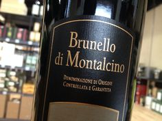 Imperious Tuscan made wholly from Brunello, Montalcino's plump-berried clone of Sangiovese. Brunello Di Montalcino, Siena, The Locals, Alcohol, Italy, Drinks, Bottle, Dark, Rose