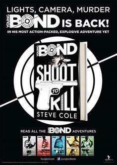 "Poster for ""Shoot To Kill"" released - The James Bond Dossier James Bond Books, Bond Series, New Poster, The Book, Novels, Reading, Art, Art Background, Word Reading"