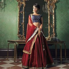 Nishly Fashion House offers exclusive range of Lehenga  Cholis, Designer Bridal Lehenga Cholis and Designer Ghagra Cholis. See and get your  customized choice cholis from www.nishly.com