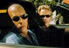 Vin Diesel & Paul Walker. Fast and Furious RIP Paul Walker you were the most gorgeous man i've ever laid eyes on.