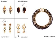 "Lizzie Fortunato Jewels / Collections / Spring/Summer 2012 ""The Desert House"" / Page 19"