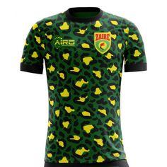 c663e4d7d22 2018-2019 Zaire Home Concept Football Shirt (Kids) Football Shirts