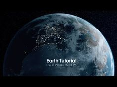 Photo-Realistic Earth in 10 min, Cinema 4D Tutorial - YouTube