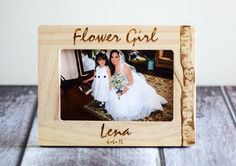 Hey, I found this really awesome Etsy listing at https://www.etsy.com/listing/230255952/flower-girl-frame-flower-girl-gift