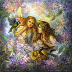 ANGELS by Nadia Strelkina
