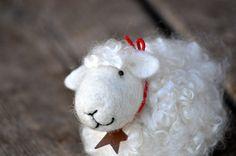 Needle Felted animal Sheep Lamb by BearCreekDesign on Etsy, $40.00