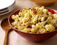 PointsPlus Roasted Cauliflower with Parmesan Cheese Recipe | The Daily Meal