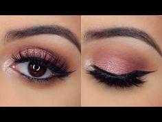 Rose Gold Makeup Look | Modern Renaissance Palette Tutorial