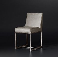 Emery Track Arm Leather Chair Collection | RH Modern