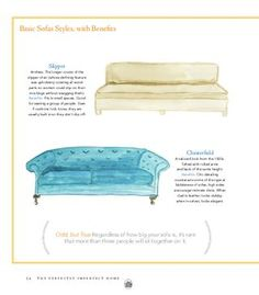 different types of sofas