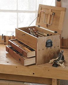 Preview - Tool Chest with Drawers - Fine Woodworking Article