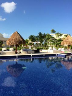 Beautiful sunny day at The Beloved Hotel Playa Mujeres! #Cancun #Vacations
