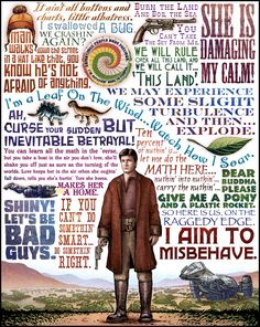 Firefly/Serenity quotes. What a series that REALLY should have continued.