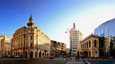 Calea Victoriei Capital Of Romania, Bucharest, Street View, City, Building, Travel, Viajes, Buildings, Cities