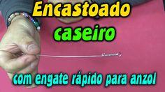 ENCASTOADO CASEIRO com engate rápido para anzol ✱ Dicas de pesca ✱  Aces...