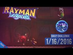 """Rayman Legends - Daily Challenge 1/16/2016 in 16""""74 Seconds (Diamond Cup)"""