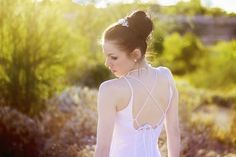 Wedding updo Desert Bridal Session in Peoria, Arizona by Franciose Photo