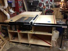 Table saw build - by agoneyl @ LumberJocks.com ~ woodworking community