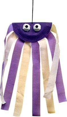 Octopus wind sock