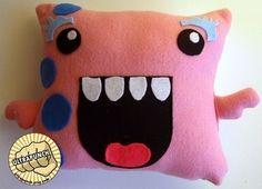 girl monster pillow - Google Search
