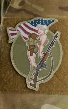 Andrew Bawidamann SHOP | PROPAGANDA > MORALE PATCHES > B.A.R. GIRL PATCH