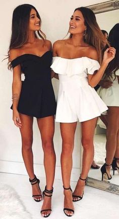 Outfits casuales de moda 2018 trendy outfits, spring outfits, work outfits, date outfits Night Outfits, Spring Outfits, Fashion Outfits, Fashion Trends, Winter Outfits, Matching Outfits, Cute Outfits, Baddie Outfits Party, Mom Outfits