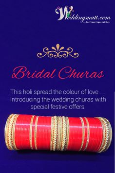 Weddings are incomplete without friends….. And the Bride Without Wedding chura……  #Weddingmatt #WeddingChura #WeddingCollection  Check Out Now - http://www.weddingmatt.com/