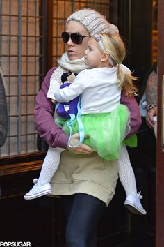 Pink and her daughter, Willow, stepped out in NYC.