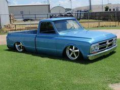 Classic GMC truck. .