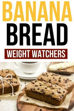 Banana Bread for Weight Watchers Weight Watchers Banana Bread is moist and delicious. This healthy sweet bread recipe is lower in freestyle smartpoints then regular banana bread. I love this Weight Watchers dessert recipe and so does my family! Weight Watcher Desserts, Weight Watcher Banana Bread, Plats Weight Watchers, Weight Watchers Meals, Healthy Bread Recipes, Banana Bread Recipes, Ww Recipes, Ww Bread Recipe, Moist Banana Bread