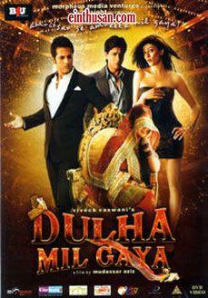 Dulha Mil Gaya Hindi Movie Online - Shahrukh Khan, Sushmita Sen and Fardeen Khan. Directed by Mudassar Aziz. Music by Lalit Pandit. 2010 Dulha Mil Gaya Tamil Movie Online.