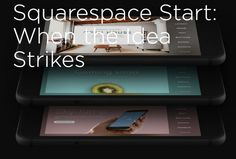 Squarespace Start - Build a simple website right from your mobile phone