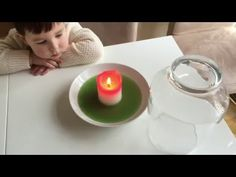 Homemade fire extinguisher science project for children - YouTube