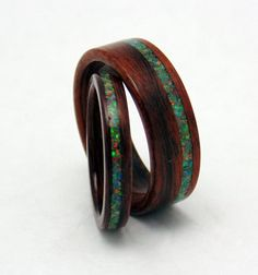LOOOOOVE THESE.   Hey, I found this really awesome Etsy listing at https://www.etsy.com/listing/182965412/santos-rosewood-wooden-wedding-bands