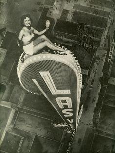 Brave woman in Las Vegas | #pinup #lasvegas #vintage