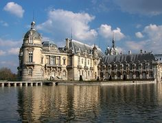 Chateau Chantilly France