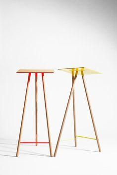 Higher Desk by Coordination Coffe Table, Table Desk, Design Furniture, Table Furniture, Modern Retro, Minimalist Home, Retail Design, Decoration, Interior Architecture
