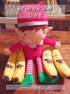 Elf on the Shelf – Day 7, 8, 9 and 10