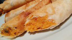 Sweet Potato & Cashew Cheese Rolls