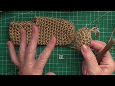 Tutorial pantuflas de ganchillo - YouTube Crochet Slipper Pattern, Crochet Slippers, Crochet Patterns, Girls Sandals, Baby Blanket Crochet, Free Crochet, Diy And Crafts, Make It Yourself, Embroidery