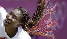 Venus Williams' Burst Of Color At Wimbledon For Olympics