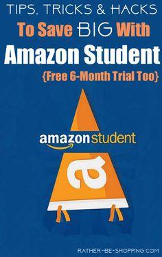 "Amazon ""Prime Student"" Money-Saving Hacks"