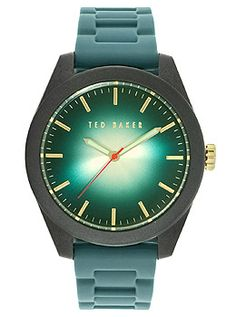 Ted Baker Sport Three-Hand Blue Silicone Strap Men's watch #10024794
