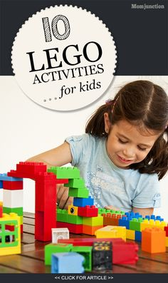 Lego Activities For Kids: Read on to know of some fun and interesting #activities that your kid can do using Lego.