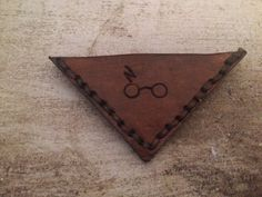 Personalized Harry Potter Leather Bookmark