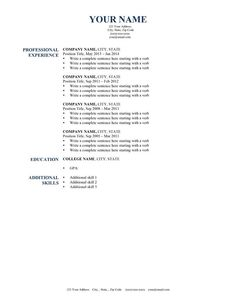 Harvard Resume Template 2015   Http://www.jobresume.website/harvard