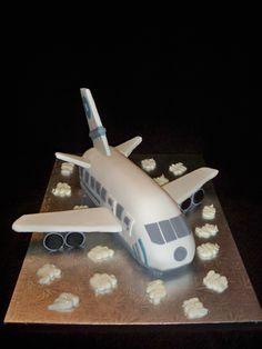 Airplane Cake for Samuel's birthday